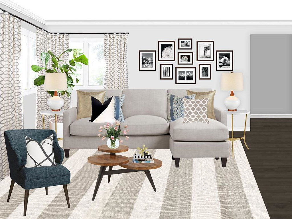 Transitional Living Room Makeover For My Decoristofficial
