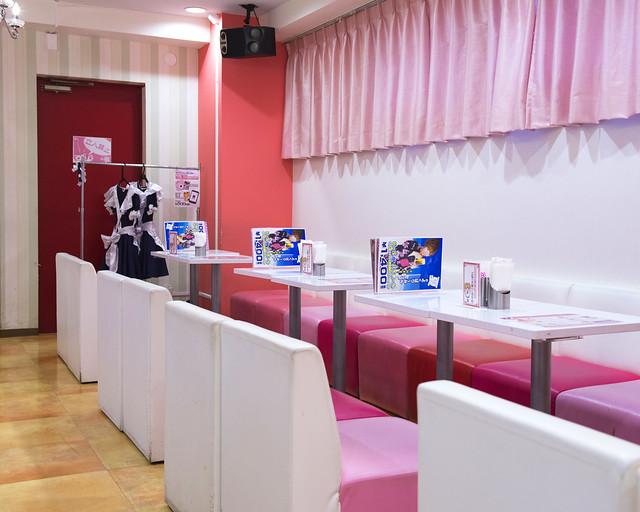 Interior del MaiDreamin, el mejor Café de sirvientas de Japón al que fuimos