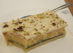 ライムホワイトチョコケーキ