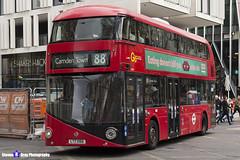 Wrightbus NRM NBFL - LTZ 1066 - LT66 - Camden Town 88 - Go Ahead London - London 2017 - Steven Gray - IMG_9344