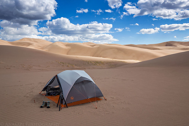 Great Sand Dunes Camp
