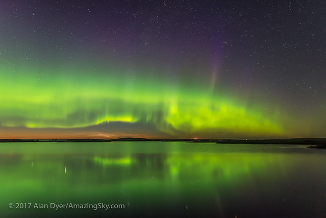 Aurora and Noctilucent Clouds over Crawling Lake v2