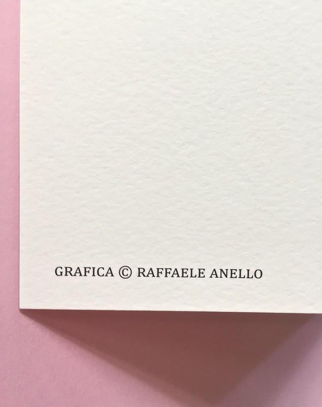 Mary Miller, Happy hour. Black Coffee edizioni, Firenze 2017.  Grafica di Raffaele Anello. Bandella posteriore: indicazione della responsabilità grafica (part.), 1