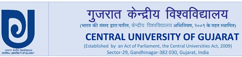 Central University of Gujarat Admission 2017