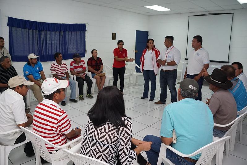 Despacho Abierto con Cooperativa El Tercio, Usulután