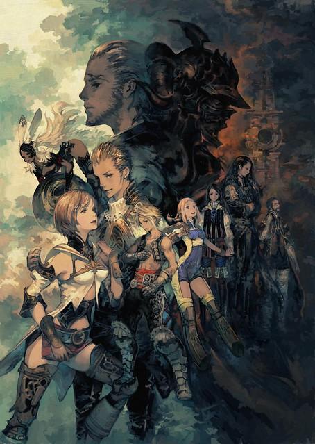 Final Fantasy XII The Zodiac Age, Art