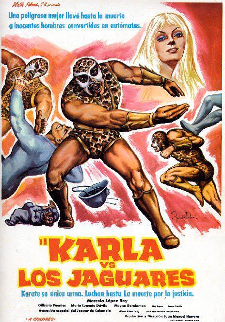 Póster de la película Karla vs Los Jaguares