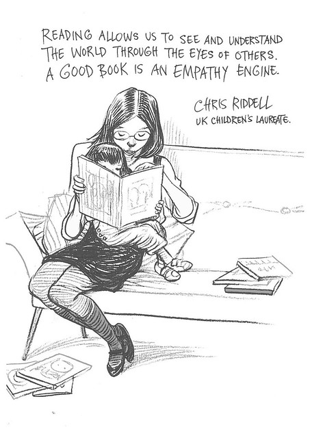 Chris Riddell for empathy Lab