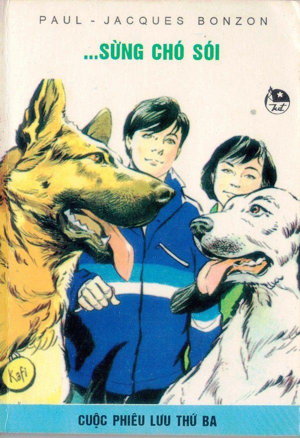 Sáu Người Bạn Đồng Hành Tập 3: Sừng Chó Sói - Paul Jacques Bonzon