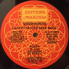 LAFAYETTE AFRO ROCK BAND:VOODOUNON(LABEL SIDE-A)