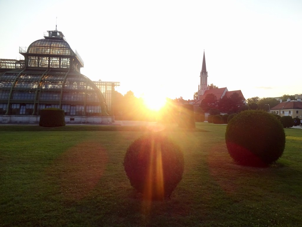 Sundown in Schönbrunn