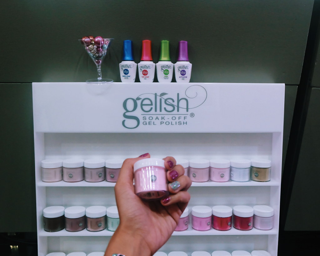 how to use gelish dip