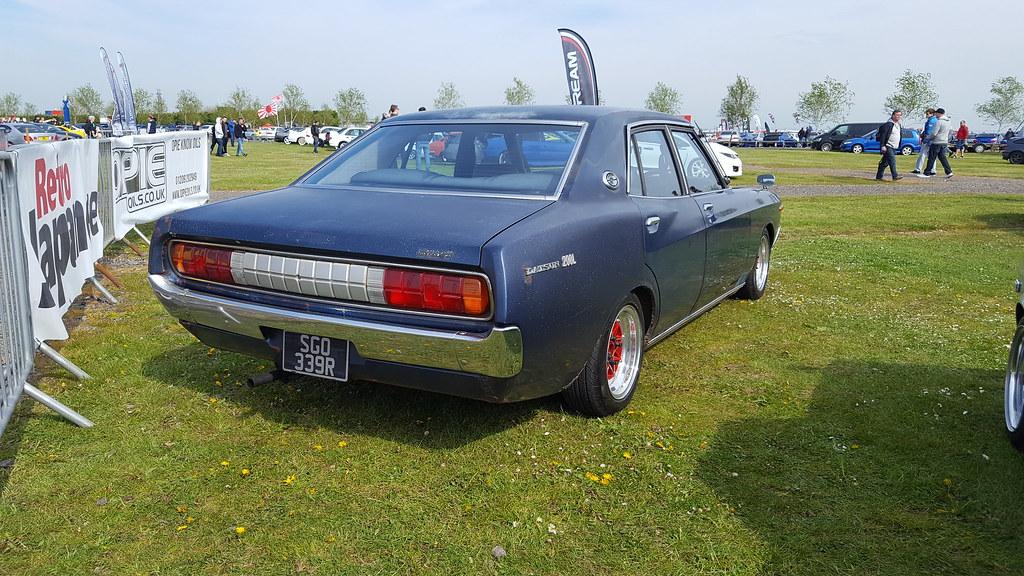 Datsun Laurel C130 | Datsun Laurel C130 at Japfest , Silvers… | Old ...