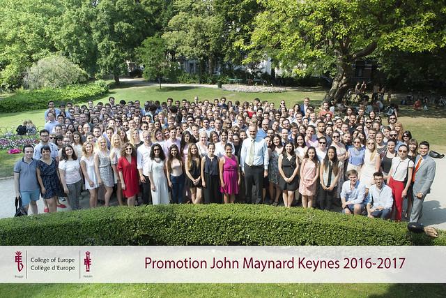 Group Pictures, John Maynard Keynes Promotion 2016-2017