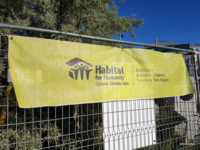 Habitat for Humanity banner