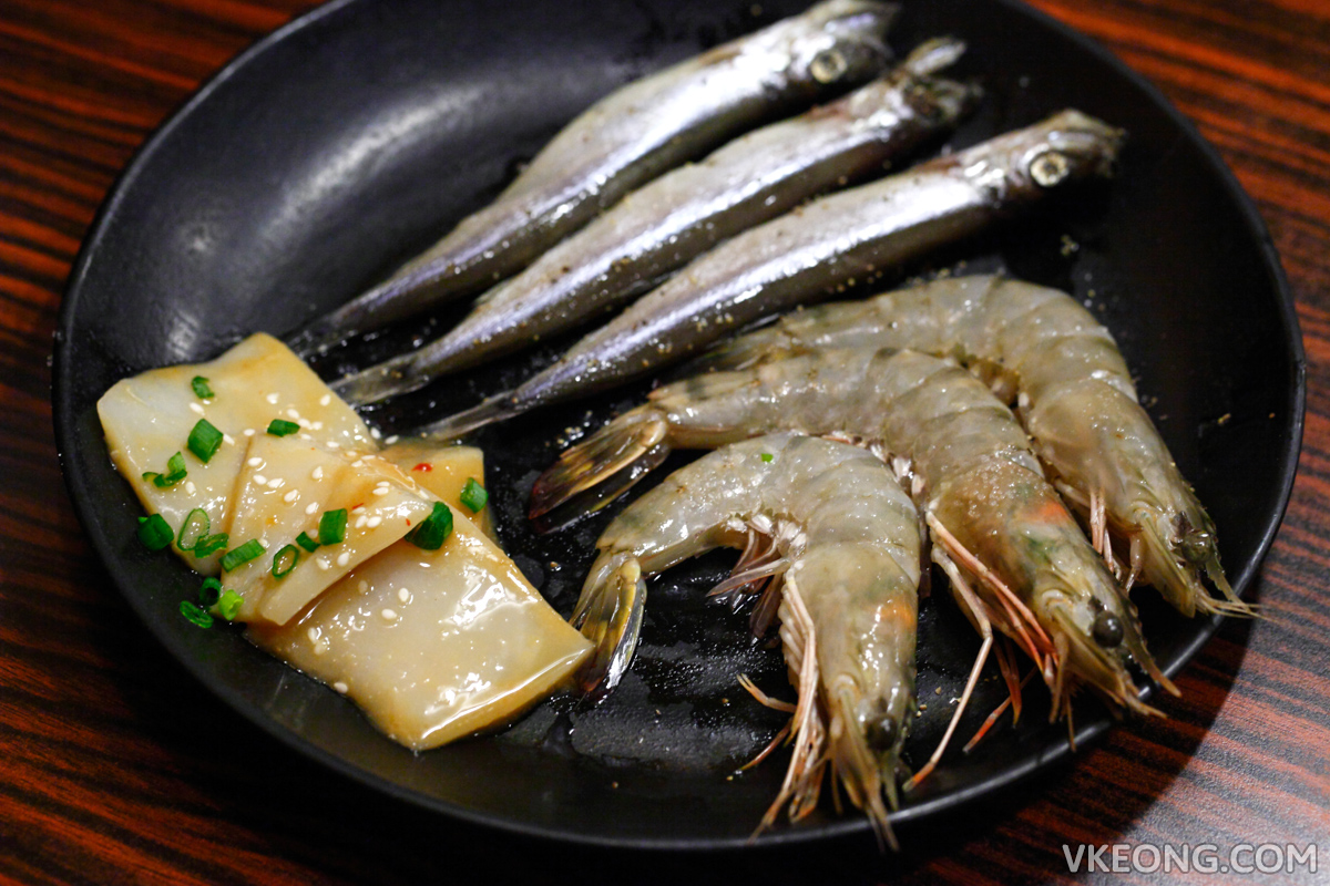 Momotalo Yakiniku Mixed Seafood Combination