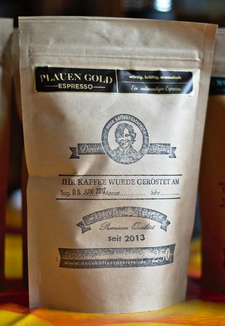 Neue Kaffeerösterei Plauen Plauen Gold Espresso