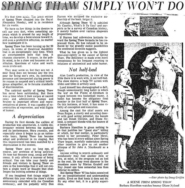 star 1967-03-29 cohen review of spring thaw