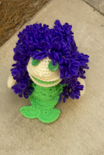 crochet mermaid puppet_3 | by Yochet