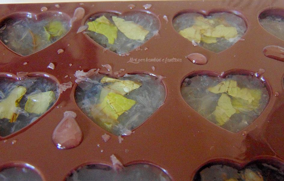 ghiaccioli al succo di limone