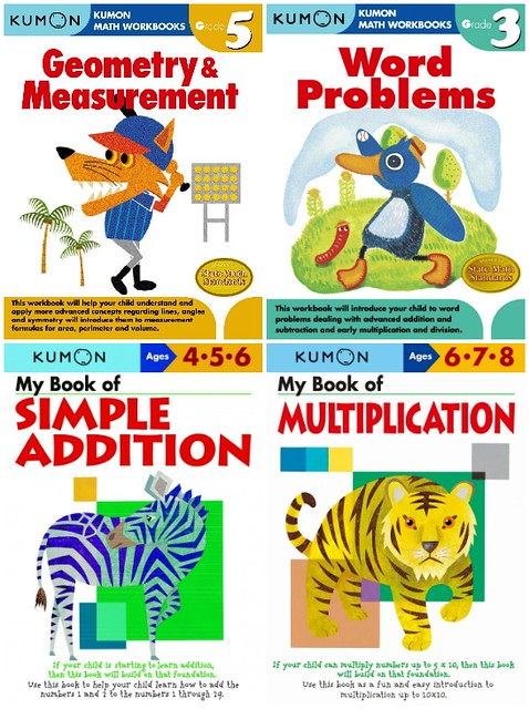 Kumon Publishing Math workbooks