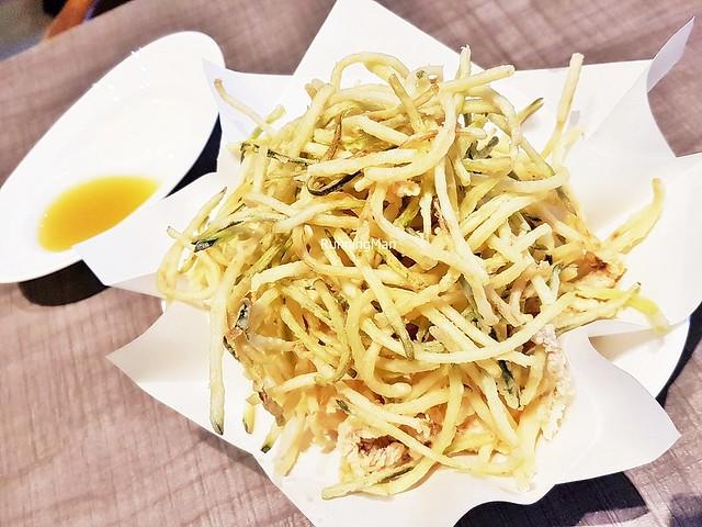 Calamari & Zucchini Fritters