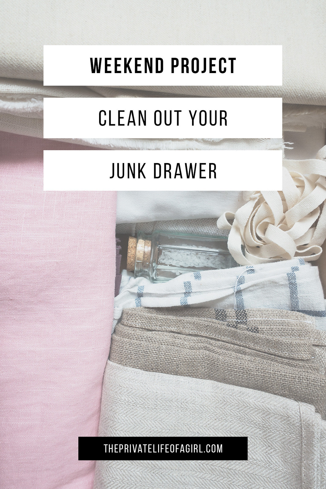 Weekend Project: Clean Out Your Junk Drawer For Good