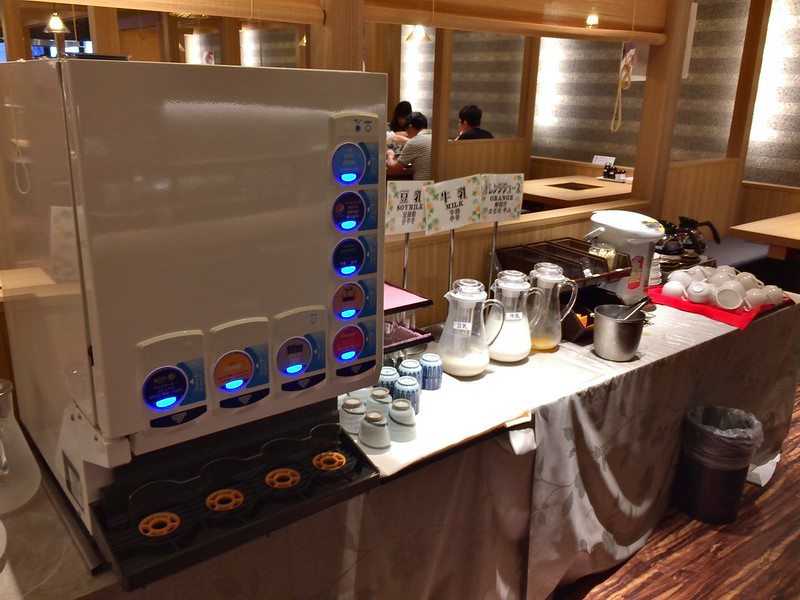 心斎橋グランドホテル大阪-早餐飲料吧