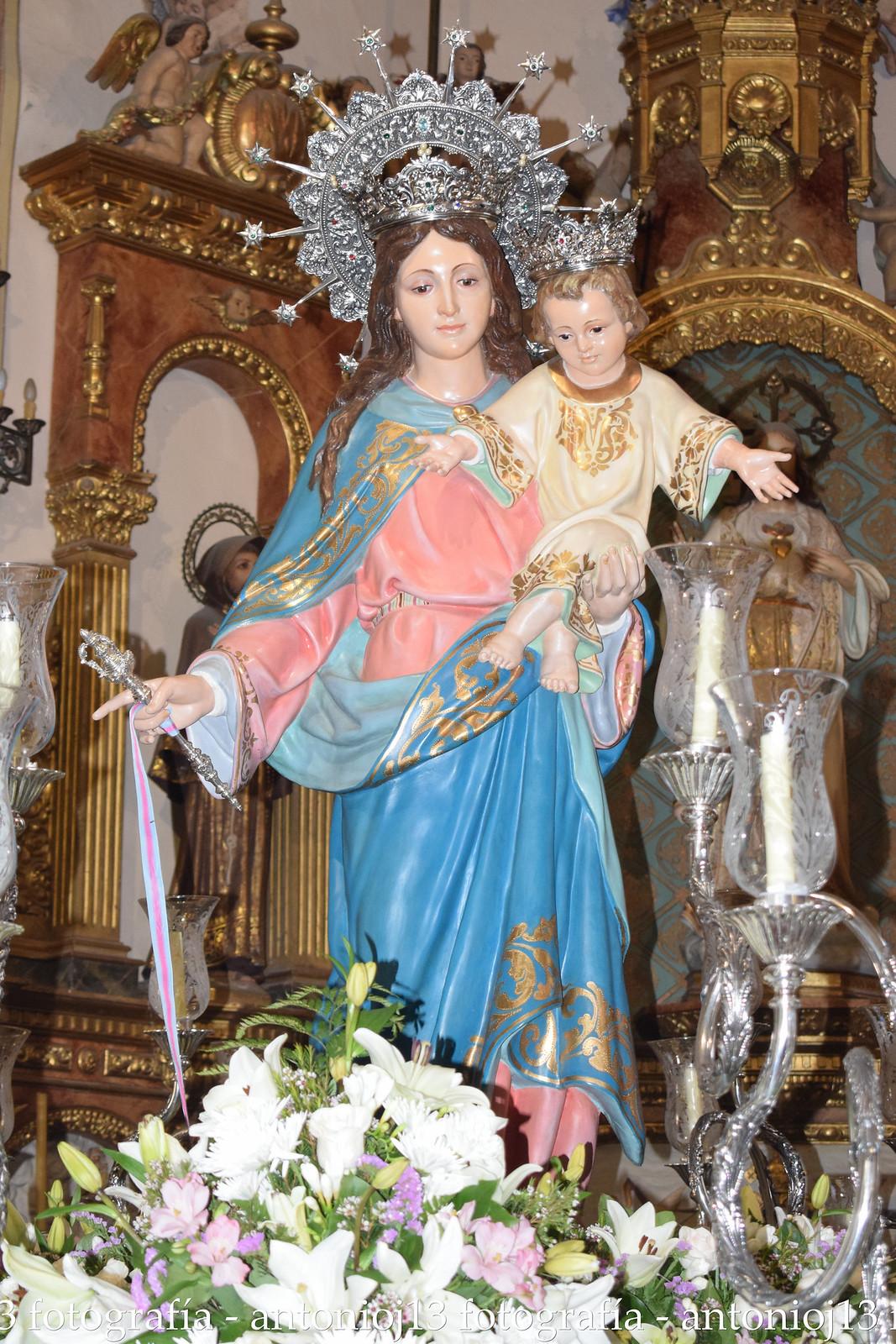 Procesión María Auxiliadora completa