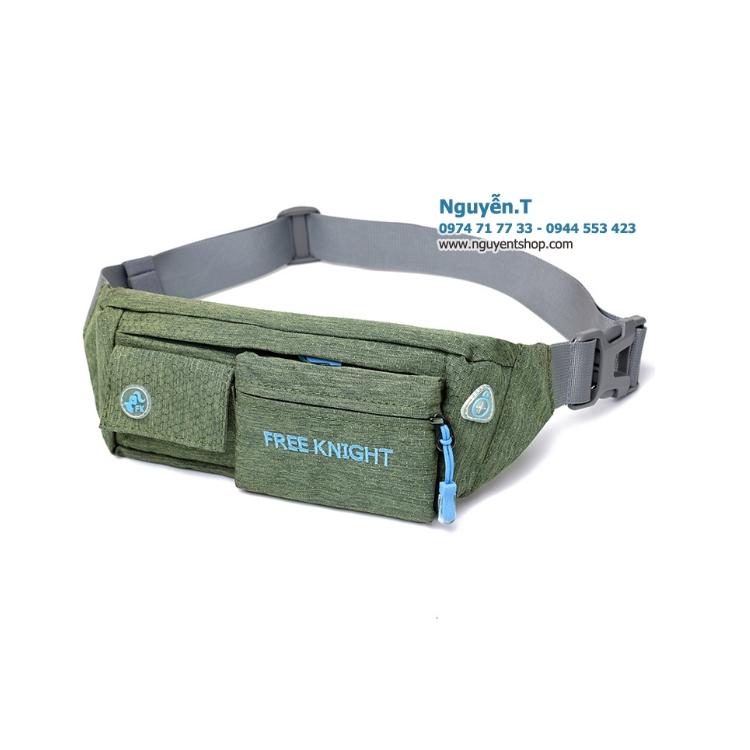 Túi bao tử đeo bụng Free Knight FK808 xanh rêu