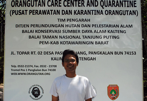 Orangutan Foundation International Orangutan Rescue and Rehabilitation Employee Spotlight Veterinarian Dr Ketut