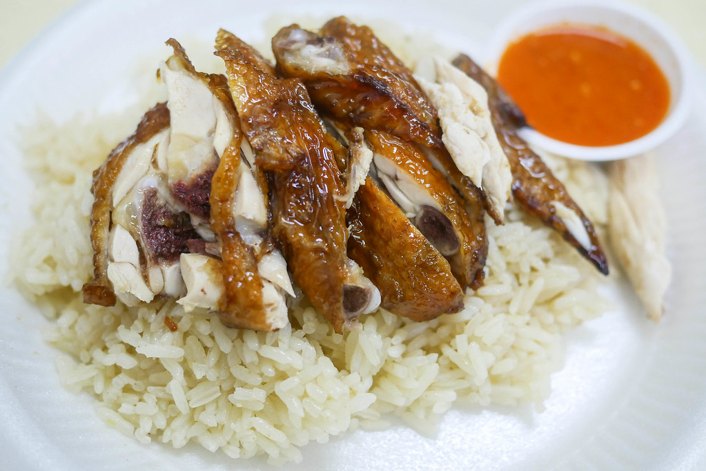 Simei Food: Snack Shop Chicken Rice