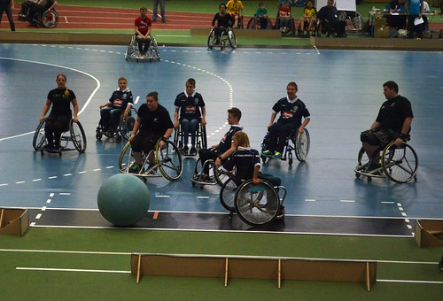 Wheelsoccer tournament at the Ruhrgames