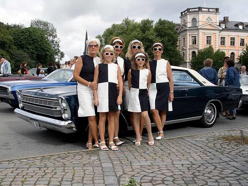 1966 Ford Galaxie och OP-mode.