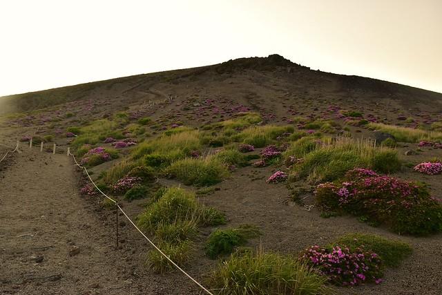 高千穂峰登山 最後の登り坂