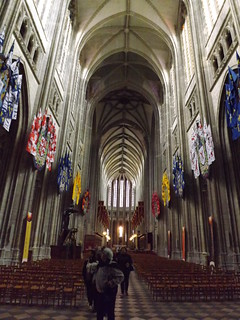 Inside Orléans Cathedral