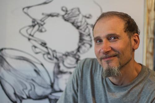 Автор «Кованої алеї» покаже трохи менші шедеври