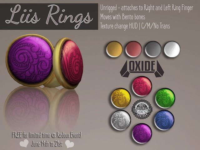 OXIDE Liis Ring