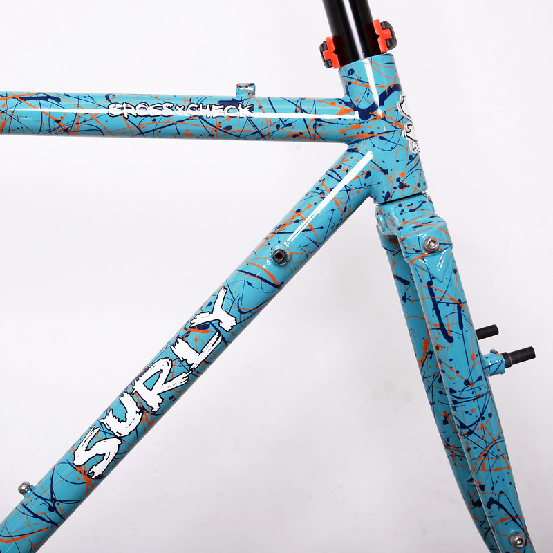 Surly Cross-Check Painted by Swamp Things