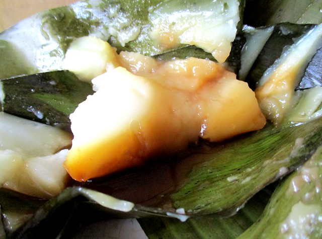 Steamed kueh, inside