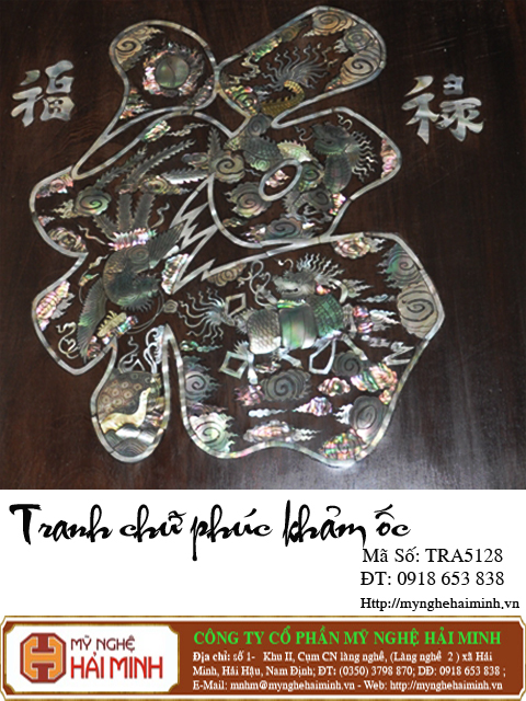 tranhchuphuckhamoc TRA5128b