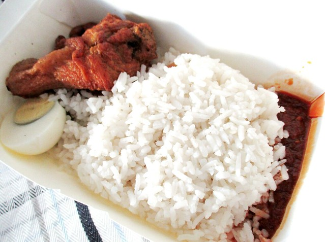 Bandong Walk nasi lemak, simple the best