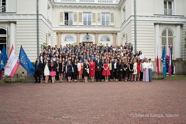 Closing Ceremony for the John Maynard Keynes Promotion 2016-2017 at the Natolin Campus