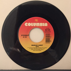 MARIAH CAREY:HERO(RECORD SIDE-A)