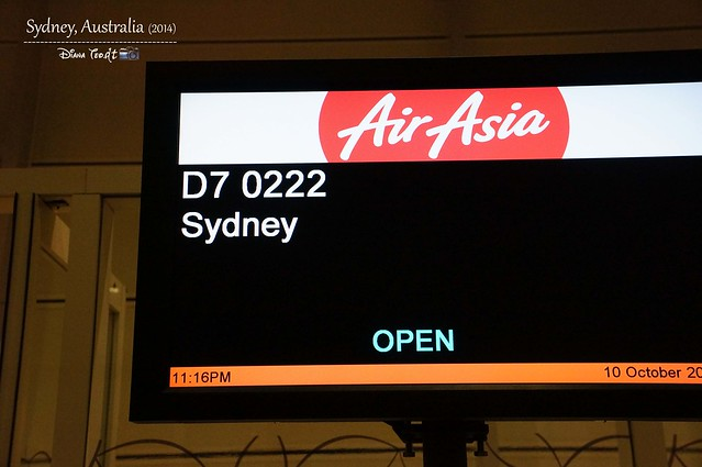 Day 1 - AirAsia X KL To Sydney