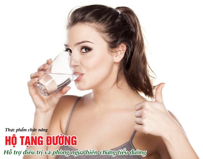 Nước khoáng là lựa chọn tốt nhất cho người bệnh tiểu đường