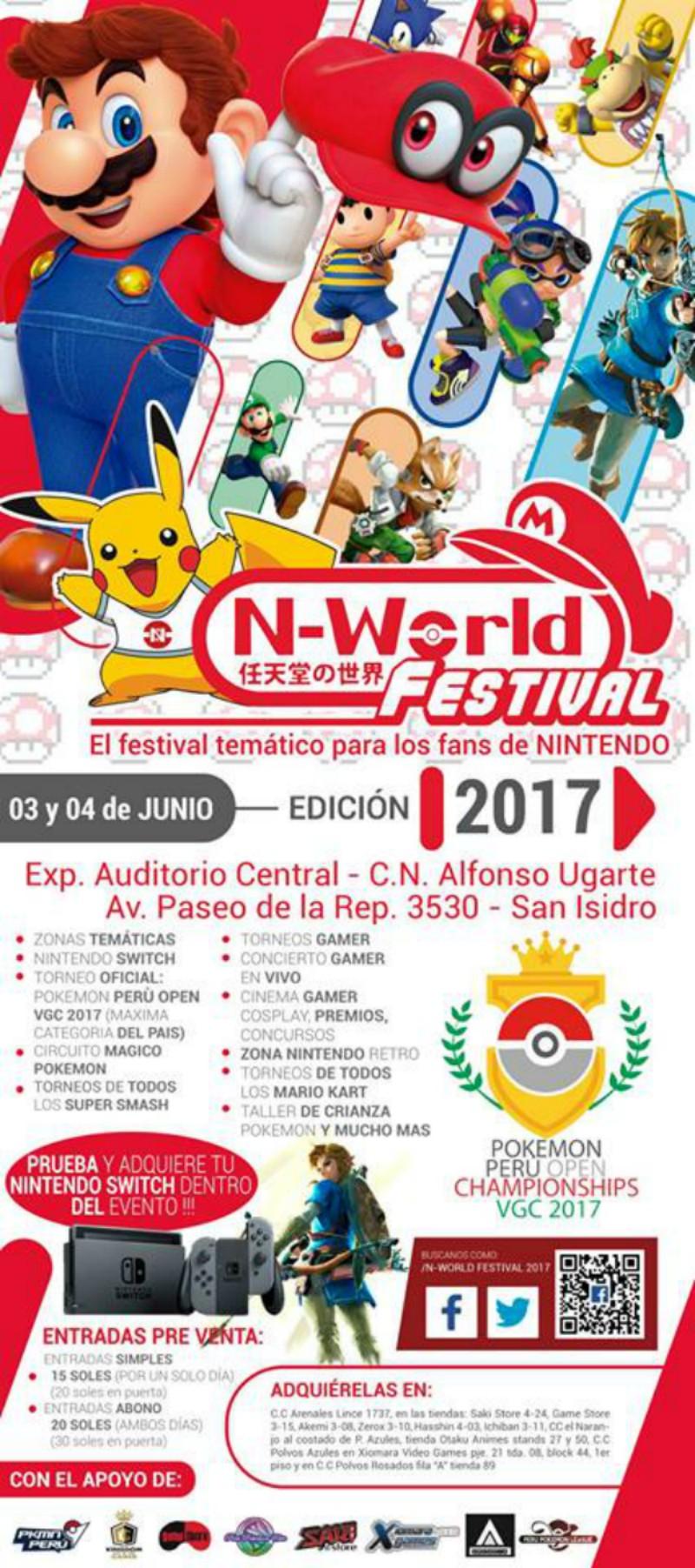 N-World Festival 2017 | 3 y 4 de Junio