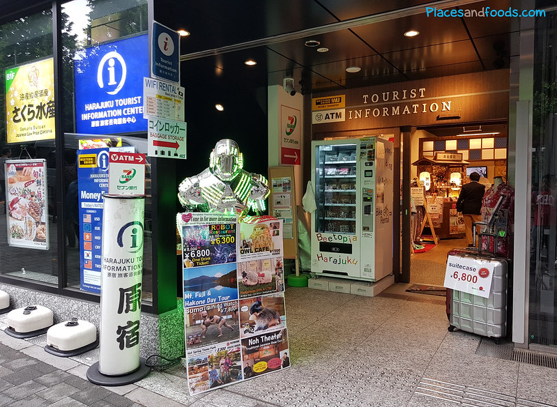 harajuku tourist information center