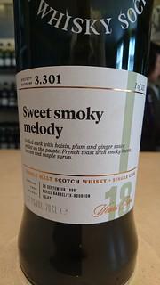 SMWS 3.301 - Sweet smoky melody