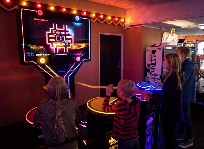 Linnanmäki Helsinki #visithelsinki #visitfinland Lintsi pelihalli peliluola pelit Pacman